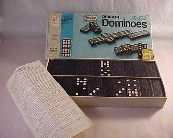 1975 Milton Bradley Dragon Dominoes