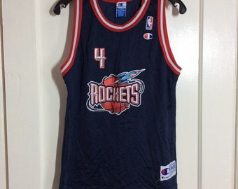 1990's Charles Barkley Houston Rockets number 4 NBA Basketball team Champion Jersey Tank size Youth 18-20 #4