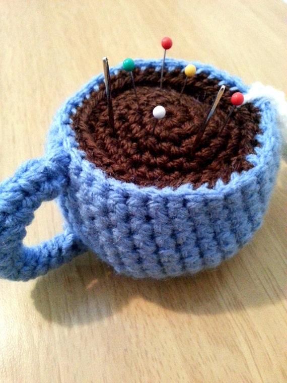 Teacup Pincushion, Crochet Teacup, Amigurumi Crochet Cup ...