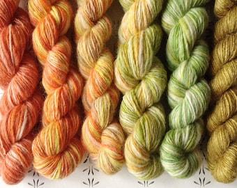 "The Sun Egg - ""Once upon a time"" collection of handspun yarns"