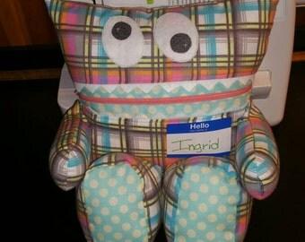 Stuffed Toy, Doll, Lovie, Jamster,