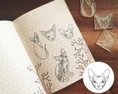 Sphynx Kitty Stamp