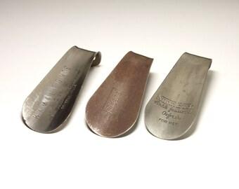 Vintage Store Shoe Horns - circa 1960's