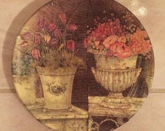 Designer Plate (Small) - Victorian Roses