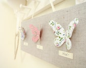 Liberty of London Butterfly Art Canvas Mini ~ Pink ~ Make A Wish! ..... Ready to Ship