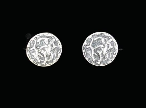 Sterling Silver Zodiac Earrings Sagittarius