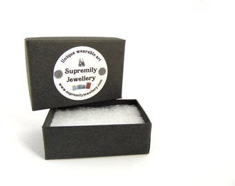 Small Gift Box, 100% Recycled Material, Supremily Jewellery