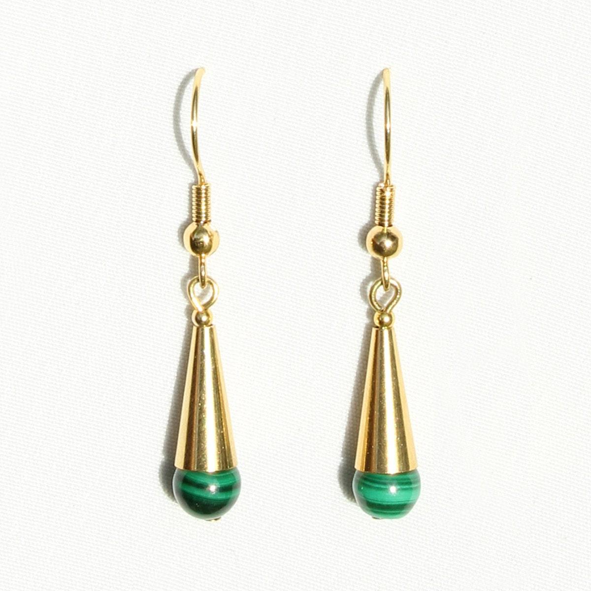 Gold drop earrings simple earrings simple gold earrings