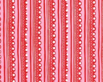 Cherry on Top Stripes - Moda Fabrics