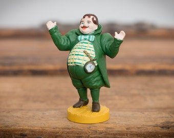 Wizard of Oz Munchkin Mayor Toy Figure, Loew's Ren., MGM, Vintage 80s