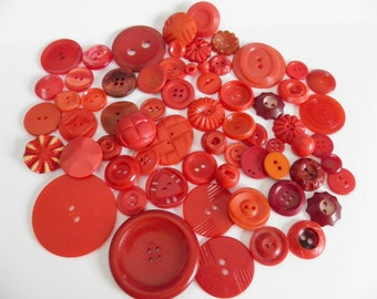 Lot of Red Buttons