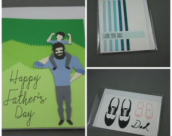 Paper Card for Dad