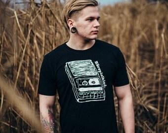 Hörspielkind T-Shirt Organic Vintage _ black