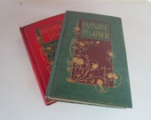 Paradise Lost and Paradise Regained by John Milton with Dust Jackets H M Caldwell Publishers
