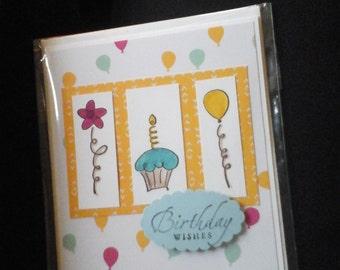 Balloons galore birthday card-free shipping
