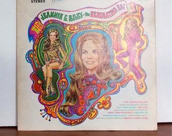 The Generation Gap, Jeannie C Riley Vintage Vinyl Record, Plantation Records PLP-11  Folk/Country, Music Memorabilia 1970