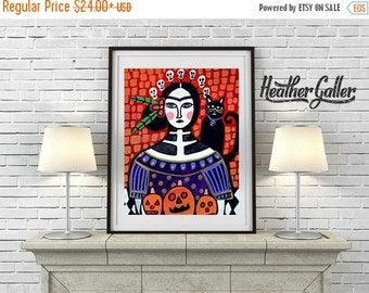 55% Off- Day of the Dead, Mexican Folk Art (HG367)