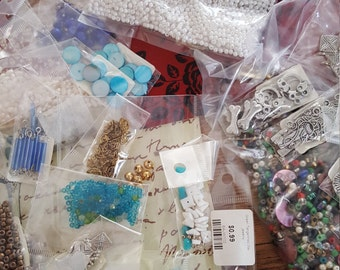 Lot of beads and findings