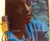 "Sade Vinyl Record Album 1980s Brazilian Jazz Pop R&B Dance Soul LP ""Promise""(Original 1985 Cbs w/""The Sweetest Taboo"")"