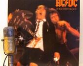 "AC/DC Vinyl Record Album LP ""If You Want Blood You've Got It"" (Original 1978 Atlantic Records w/""Whole Lotta Rosie"")"
