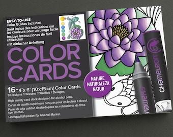 Chameleon Nature Color Cards
