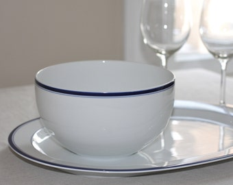 Vintage Crate and Barrel bowl and platter