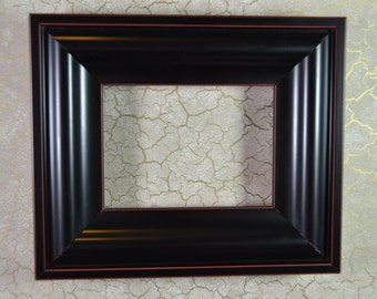 ACEO Photo Frame * Black Picture Frame * Small Size Black Frame