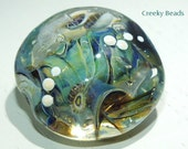 Handmade Lampwork Focal bead 'It's a BIG BIG Ocean!' Creeky Beads SRA