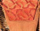 Rebecca 1605E  Rich Upholstery Fabrics Make This Purse Very Special.  Up Cycled Fabric