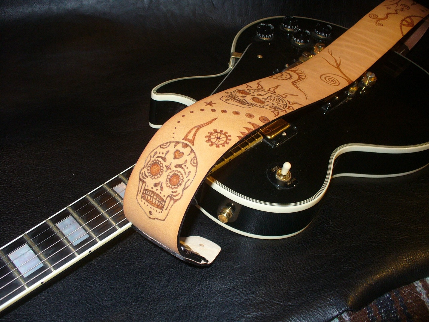 handmade guitar straps handmade leather guitar mexican 5984