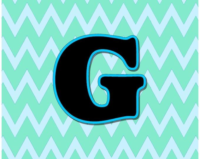 Letter G Digital Download