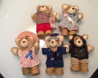Furskins Teddy Bear Collection/ FIVE Instant Collection By Gatormom13