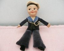 R.M.S. Sylvania Jolly Boy Sailor Doll Designed by Norah Wellings