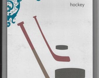 HOCKEY Sticks Puck QuicKutz  Revolution REV 0102 4X4 New in Package Cuttlebug Sizzix Metal Embossing Die Scrapbooking Card Making Sports