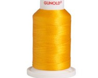 Polyester 40 Embroidery Thread | 61024 Goldenrod Yellow