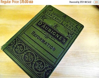 Antique Book - Victorian Covers - History of the Reformation