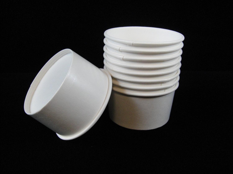 Order custom paper ice cream bowls