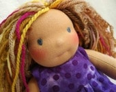 Waldorf doll-custom made for Melissa Coxon