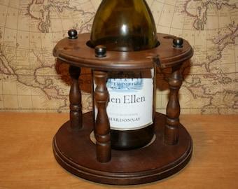 Wooden Wine Caddy - item #1783