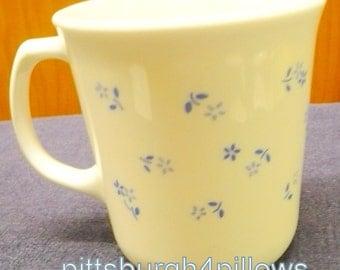 1 - Corning - Provincial Blue - Coffee Cup - EUC