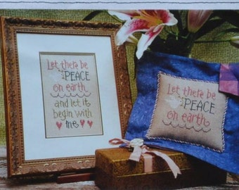 Lizzie Kate - Let There Be Peace - Cross Stitch Chart - #094
