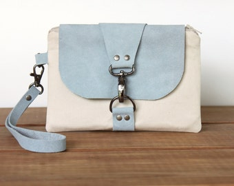 Wristlet Wallet Cell Phone Pouch - Wrist Purse - Wristlet Clutch - Ladies Clutch - Smartphone Wristlet Wallet - Mini Handbag - Small Clutch