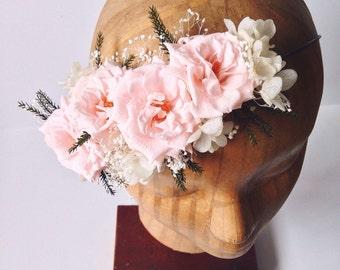 Sweet Dream Flower Crown // Rose Flower Crown