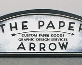 balance on The Paper Arrow sign plus shipping and packing