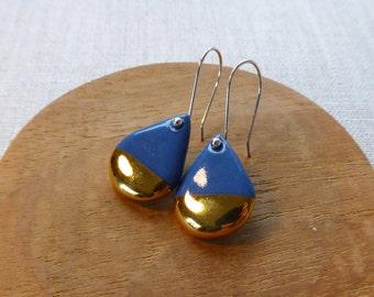 Shizuku Raindrop Hook Earrings