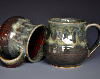 Handmade Pottery Mug Stoneware Ceramic Coffee Mug