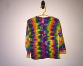 2/3T  toddler rainbow tie dyed t-shirt