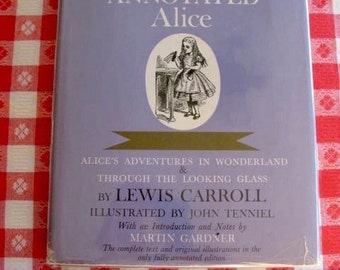 Alice In Wonderland Lewis Carroll Complete Text With John Tenniel Illustrations