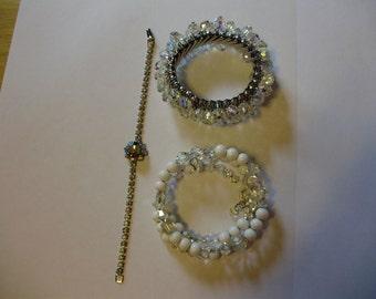 Lot of 3 Vintage Bracelets