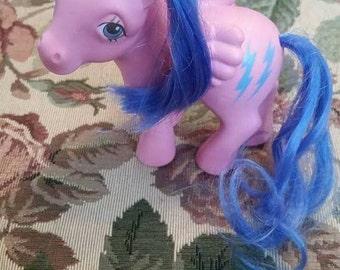 Vintage Rare My Little Pony Pegasus Firefly 1980s Hasbro G1 Generation 1